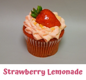 Gourmet Cupcakes West Bloomfield MI - Cake Crumbs - strawberrylemonade