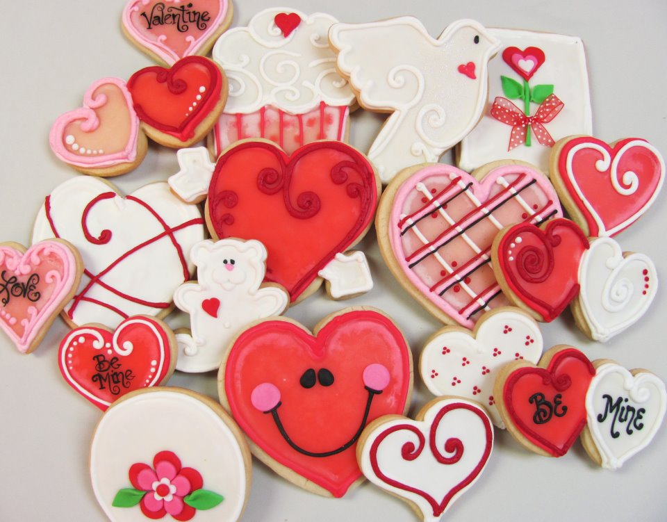 valentine's day - seasonal treats - cake crumbs, Ideas